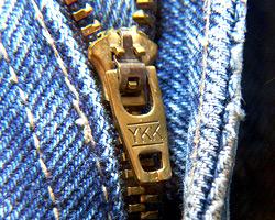 The First Zipper
